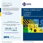 "Towards entry ""DPG Symposium ""Correlative and in situ microscopy in materials research"" coorganized by GRK 1896"""